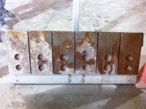 Before- Steel Liner