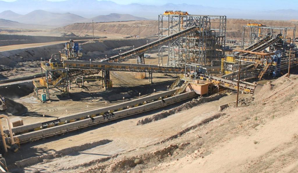 Nevada Gold Mine Secondary Crusher Plant