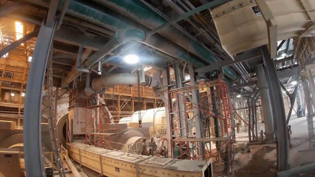 Canaletas Installation